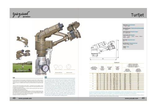 TURF JET Product Catalog