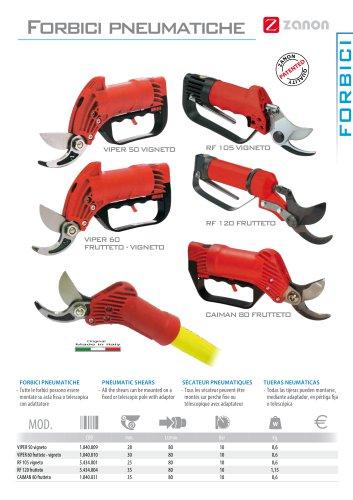 Pneumatic shears