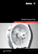 Multifan Greenhouse fan