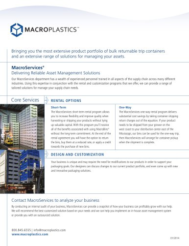 MacroServices