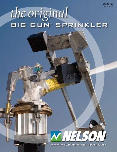 The Original Big Gun Sprinkler
