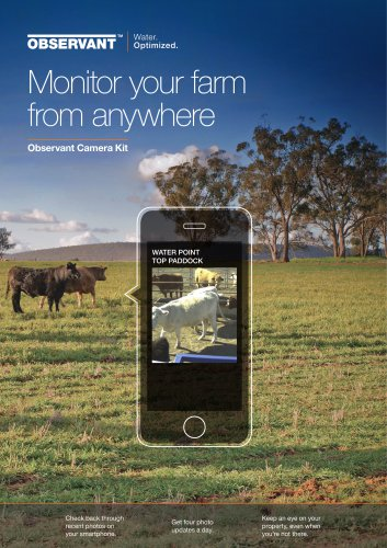 Monitor your farm from anywhere
