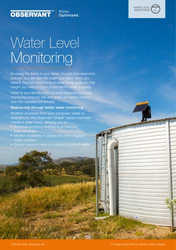 Water Level Monitoring