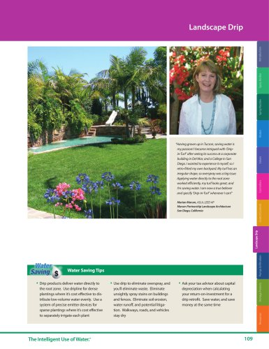 Landscape Drip -- 2018 Rain Bird Landscape Irrigation Products Catalog