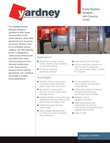 Pump Suction Screen