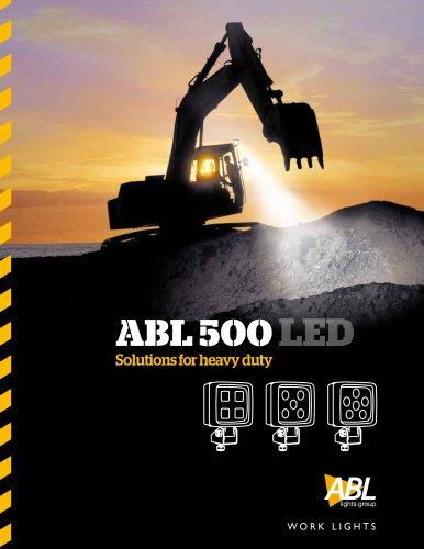ABL 500 LED range