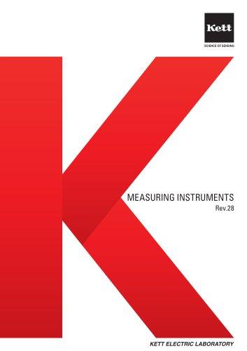 Kett Electric Laboratory catalog