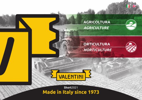 AGRICULTURE - HORTICULTURE