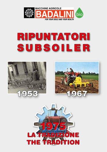 Ripuntatori - Subsoilers