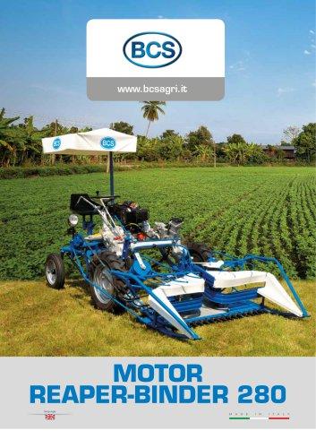 MOTOR REAPER-BINDER 280
