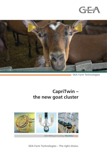 CapriTwin – the new goat cluster