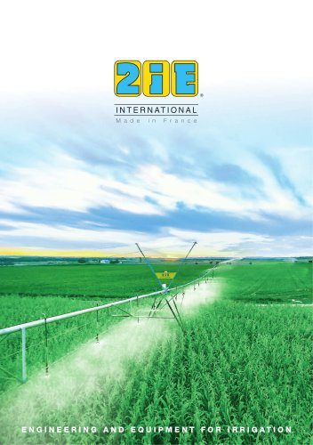 ENGINEERING AND EQUIPMENT FOR IRRIGATION