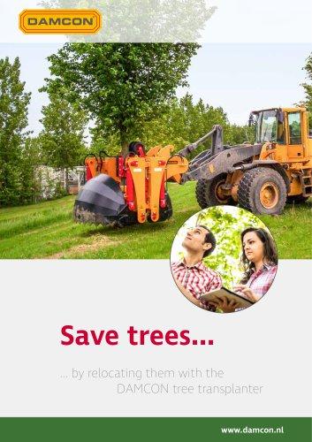 Damcon KLR tree transplanters