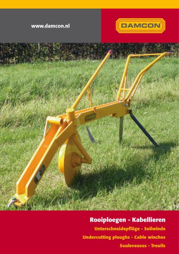 Damcon undercutting ploughs