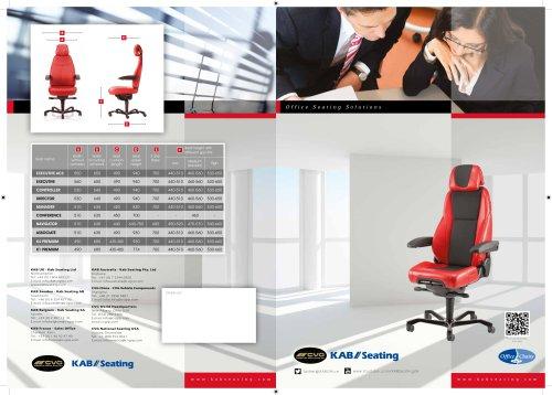 New English Office Seat Brochure