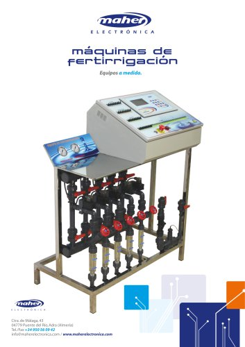 FERTIGATION SYSTEMS