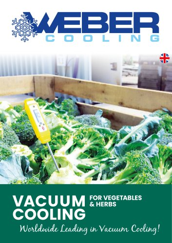 Vacuum Cooling for Vegetables & herbs