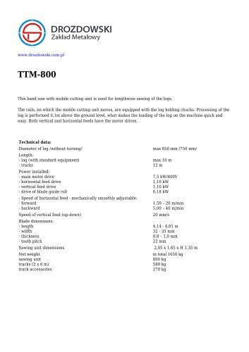 TTM-800