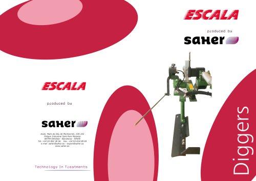 Escala saher Diggers catalogue