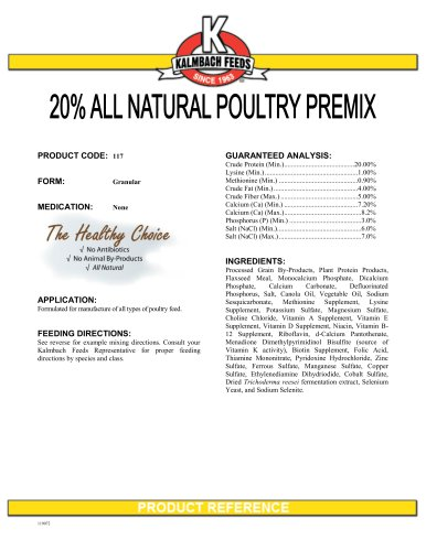 ALL NATURAL POULTRY REMIX
