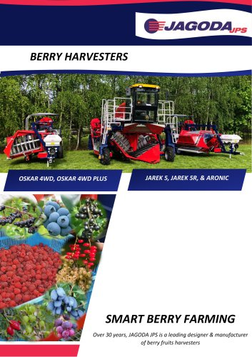 OSKAR 4WD Self-Propelled Berry Harvester