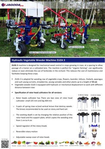 ZUZA-3 weeding Machine