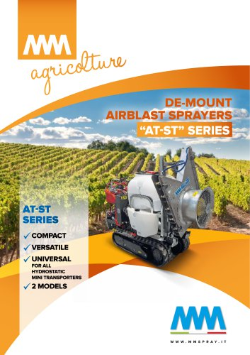 DE-MOUNT AIRBLAST SPRAYERS