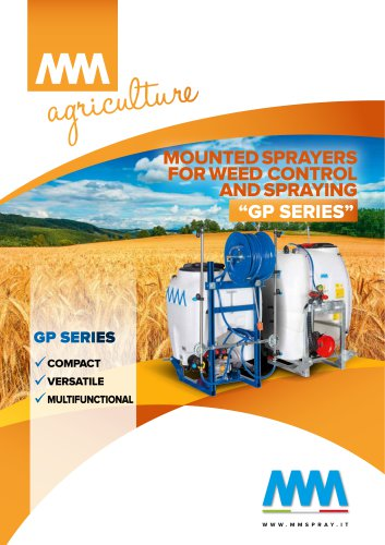MOUNTED SPRAYERS FOR WEED CONTROL AND SPRAYING