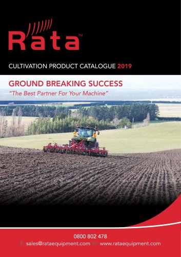 Rata Cultivator Catalogue