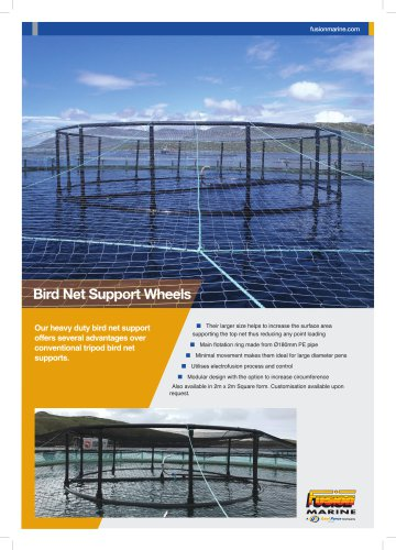 Bird Net Support Wheels