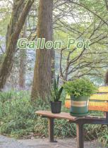 Gallon Plastic Plant Pots Grow-Green Catalog