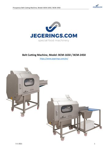 BCM-1650 Vegetable Cutting Machine