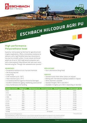 HILCODUR AGRI PU Drag Line